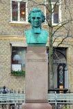 Bust of Peter Wieselgren in Gothenburg, Sweden Royalty Free Stock Images