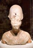 Bust of pharaoh Akhenaten in Egyptian museum in Berlin, Germany Stock Photography