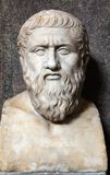 Bust of Plato Stock Images