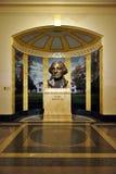 Bust of President George Washington. Inside George Washington Masonic National Memorial on Oct 15, 2011 Royalty Free Stock Image