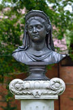Bust of Queen Louise. Zelenogradsk, Kaliningrad oblast, Russia Stock Photos
