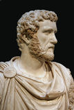 Bust of Roman Emperor Stock Photos