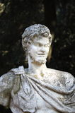 Bust of a roman statue Royalty Free Stock Photos