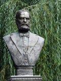 Bust sculpture of August Treboniu Laurian Stock Image