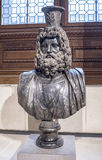 Bust of Serapis. Collections royales francaises.Louvre. Paris,France- May 03,2017: Bust of Serapis. Collections royales francaises.Louvre Royalty Free Stock Photo
