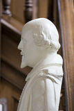 Bust of Shakespeare at National Churchill Museum, Fulton, Missou Royalty Free Stock Photography