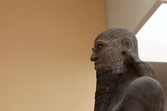 Bust of Shalmaneser III. He was king of Assyria (859 BC � 824 BC Royalty Free Stock Photos