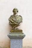 Bust of Spanish king Charles III in Alcazar castle, Segovia Stock Photo