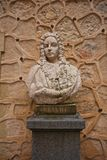 Bust of Spanish king Ferdinand VI the Learned in Alcazar castle, Stock Photos