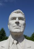 Bust Statue of Ronald Reagan Royalty Free Stock Photos