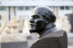 Bust of Vladimir Lenin Royalty Free Stock Photography