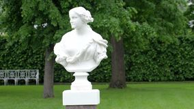 Bust of a woman in Catherine Palace Stock Photos