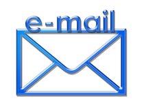 Busta del email Fotografia Stock
