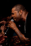 Busta Rhymes in concert royalty free stock image