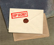 Busta top-secret Fotografie Stock Libere da Diritti
