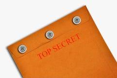 Busta top-secret Fotografia Stock
