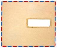 Busta vuota della posta di aria fotografia stock