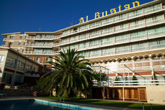 bustan ξενοδοχείο Al Στοκ φωτογραφία με δικαίωμα ελεύθερης χρήσης