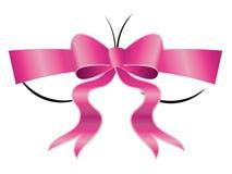 Buste avec l'arc rose illustration libre de droits