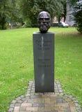 Buste de Ferdinand Tönnies, fondateur de sociologie images stock