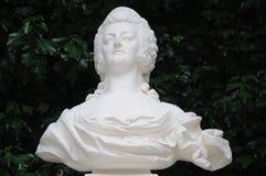 Buste de Marie Antoinette images libres de droits