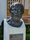 Buste de Sénèque Photos libres de droits