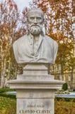 Buste von Giorgio Giulio Clovio- oder Juraj Julije-KloviÄ ‡ in Zagreb lizenzfreie stockfotografie