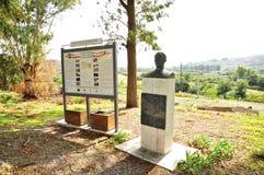 Buste von Vincenzo Florio, Cerda, Sizilien lizenzfreies stockbild