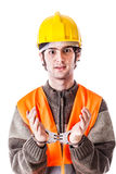 Busted engineer Royalty Free Stock Images