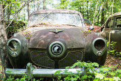 Busted Studebaker Royalty Free Stock Images