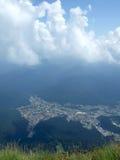 Busteni city Stock Image