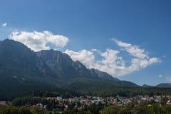 Mountains in Busteni, Romania. stock photography