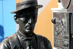 buster keaton posąg Zdjęcia Royalty Free