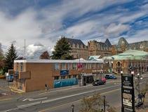 Busterminal in Victoria van de binnenstad royalty-vrije stock foto
