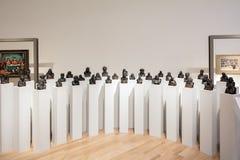 Bustes dans l'intérieur du musée Museo Soumaya de Soumaya Images stock