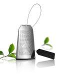 Bustina di tè dell'acciaio inossidabile Fotografie Stock Libere da Diritti
