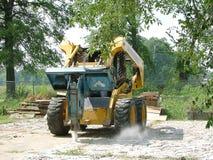 busting бетон Стоковая Фотография