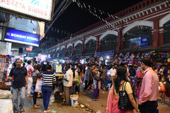 Bustling Kolkata Stock Photo