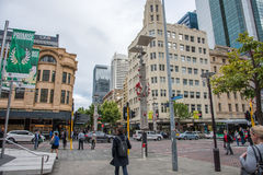 Bustling Perth at Christmastime Royalty Free Stock Images