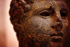 Busto antico della statua Fotografie Stock