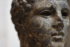 Busto antigo da estátua Imagens de Stock