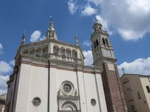 Busto Arsizio, Itália: Igreja de Santa Maria fotos de stock royalty free