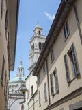 Busto Arsizio, Italy: Santa Maria church. Busto Arsizio, Varese, Lombardy, Italy: the historic church of Santa Maria in Piazza royalty free stock photography