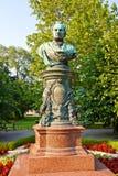 Busto de alcalde Andreas Zelinka en Viena, Austria Imagen de archivo libre de regalías