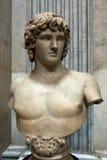 Busto de Antinous Imágenes de archivo libres de regalías