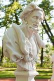 Busto de Aristotle fotografía de archivo