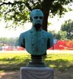 Busto de capitán James Harvey Mathes, C.S.A fotografía de archivo libre de regalías