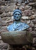 Busto de Dante Alighieri Fotografia de Stock