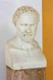 Busto de Demóstenes Fotos de archivo libres de regalías