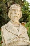 Busto de Filippo Parlatore, Palermo imagem de stock